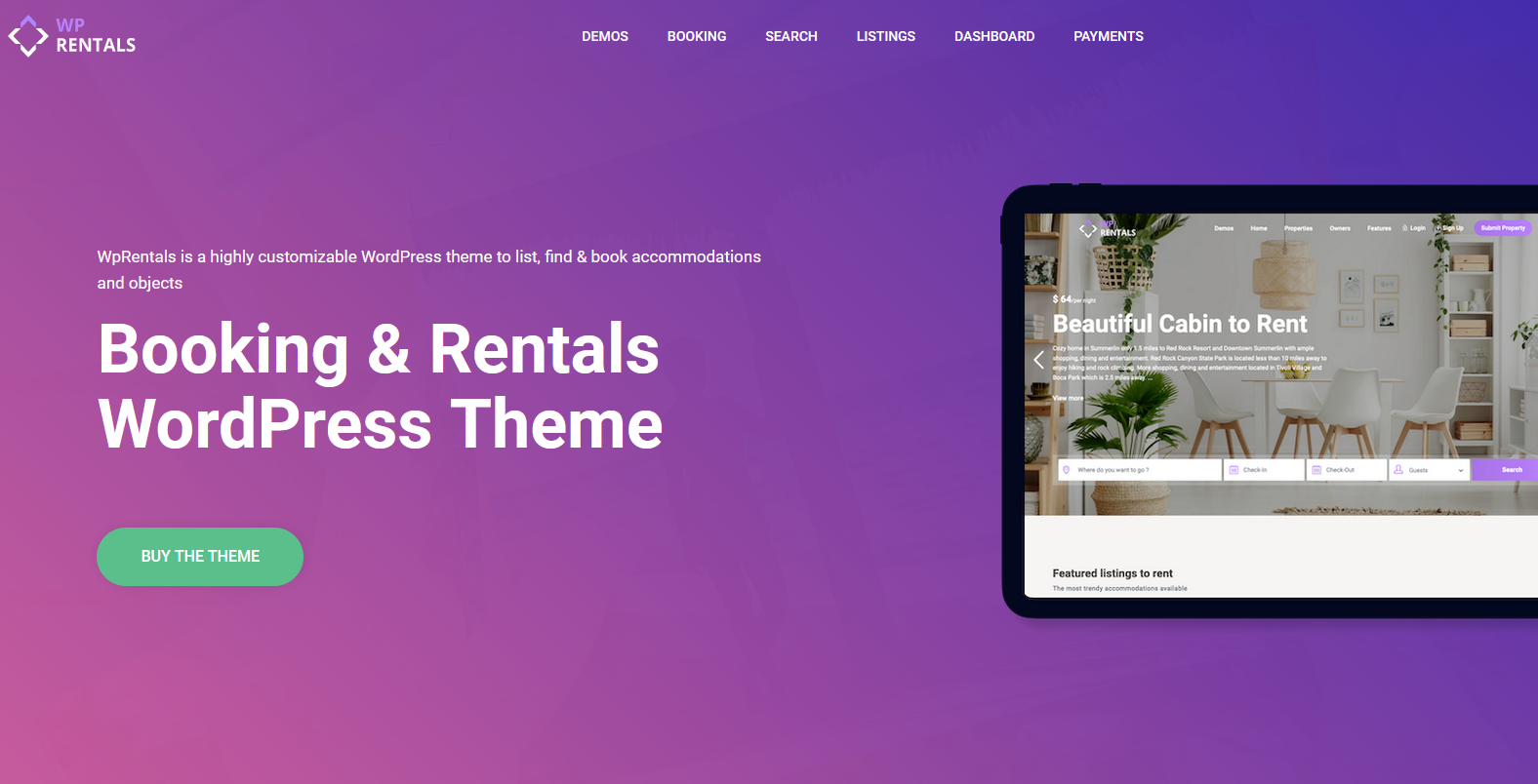 best booking theme