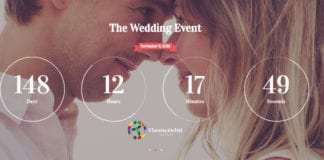 Wedding Day is a grand event WordPress Theme